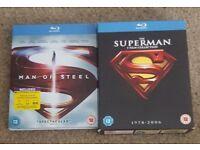 Superman collection blu rays