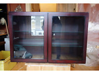 TAPLEY 33 GLass display cabinets