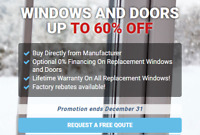 Windows & Doors Replacement & Installation Kitchener 60% Off