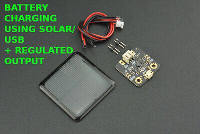 Solar Panelsolar Power Manager Board Arduino Raspberrypi 1v2v3v5v9v12v18v