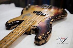 Looking for a custom shop fender bass