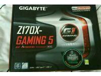 Gigabytes GA-Z170X gaming 5 LGA 1151