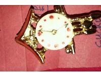 Lovely cuckoo clock broch