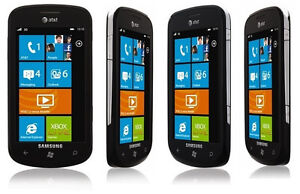 Samsung SGH i917 Focus Windows Phone Black 5mp camera 8gb AT&T Smartphone