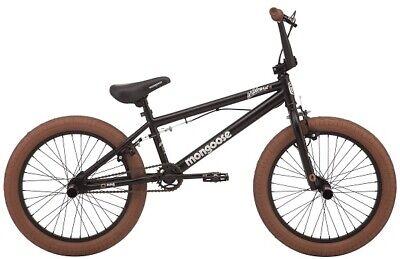 "MONGOOSE 20"" WILDCARD BOYS' FREESTYLE BMX BIKE, BLACK *DISTRESSED PKG*"