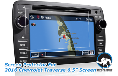 Tuff Protect Anti-glare Screen Protectors for 2016 Chevrolet Traverse (2pcs)