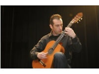 Classical guitar teacher