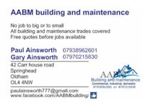 Building work....all trades covered....all aspects of building