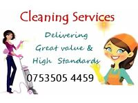Cleaning Services / From £10 p/h Stockton - Billingham - Middlesbrough - Darlington