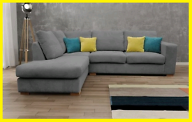 😬Sale DFS Melody Corner Sofa In Grey😬