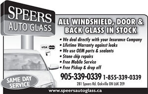 Auto,RV,Trailer Glass Repair and Replacement - Oakville Area!