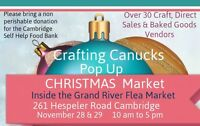 CRAFTING CANUCKS POP UP CHRISTMAS MARKET