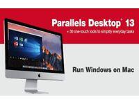 Apple Mac Software Application Installation Parallel Windows for Mac