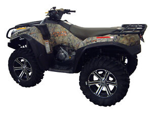 KAWASAKI-BRUTE-FORCE-750-2012-EFI-ATV-OVER-FENDERS-FLARES-MUD-GUARDS-CUSTOM-FIT