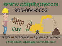 Wood Chipping Services - Starting as low as $120