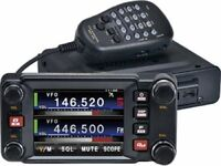 YAESU FTM 400XDR UHF/VHF FM & FUSION RADIO &HANDS FREE MIC & ADAMS PROGRAMMING SOFTWARE