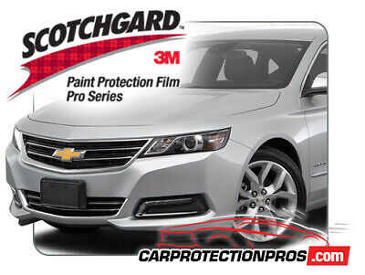 2014-2020 Chevrolet Impala 3M Pro Series Clear Bra Deluxe Paint Protection Kit