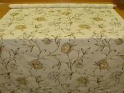 Floral Cotton Curtain Fabric