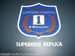 KAWASAKI Z1100R Z1000R EDDIE LAWSON SUPERBIKE DECAL