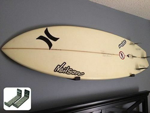 Naked Surfboard | Minimalist Surfboard Wall Display Rack | StoreYourBoard | NEW