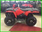 Polaris Red Utility ATVs