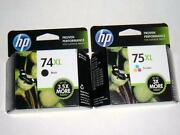 HP 74XL 75XL Genuine