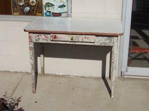 Porcelain table ebay vintage porcelain kitchen table workwithnaturefo
