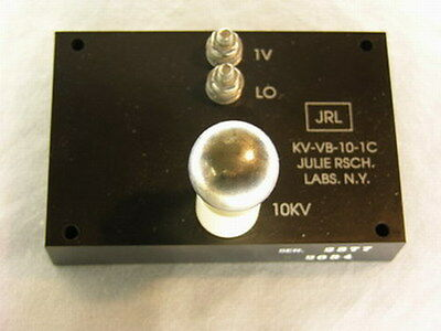 Julie Research Labs Ohm-labs Kv-vb-10-1c 10kv .025 High Voltage Divider