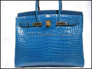 78218a5b031b Hermes Crocodile Birkin Bag