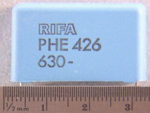 5 Evox Rifa PHE426  .47uF 5% 630V Polypropylene Box Capacitors