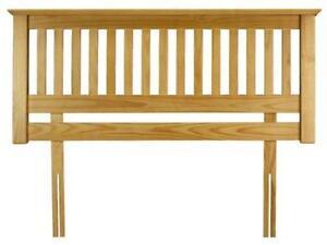 Single Bed Pine Headboard