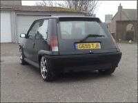 Renault 5 gt turbo (huge spec) not Vxr,rs turbo,gti,type r,evo,
