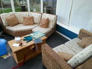 cane furniture ebay