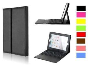 Clavier Etui Keyboard Case PU Leather iPad 2 3 4 Air Mini PRO