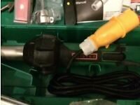 Leister Hot Air Gun as New Never Used