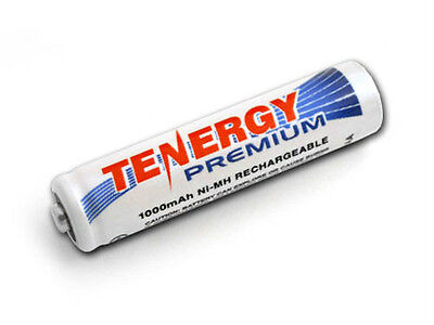 Tenergy AAA 1000mAh Premium High Capacity NiMH Rechargeable Batteries Cells AAA  for sale  Fremont