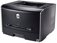 New Dell Laser Printer 1720DN + Brand New Power Lead & Brand New Printer Cable