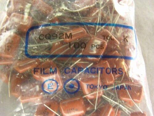 Evox Rifa CQ92M224K100 .22uF 50V 10% Radial Polyester Film/Foil Capacitors