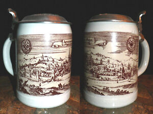 2 Authentic German Beer Steins