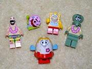 Lego Spongebob Minifigures Lot