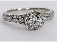*REDUCED* Monique Lhuillier Limited Edition Diamond Engagement ring - £2,850 o.n.o