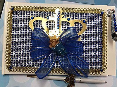 Royal Themed Baby Shower (Royal Ethnic Prince Themed Baby Shower Guest Book Birthday Prince Party)