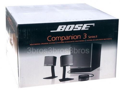 bose companion 3 subwoofer ebay. Black Bedroom Furniture Sets. Home Design Ideas