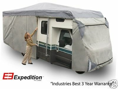 Class C Expedition RV Trailer Motor Home Cover Fits 32-35 Foot