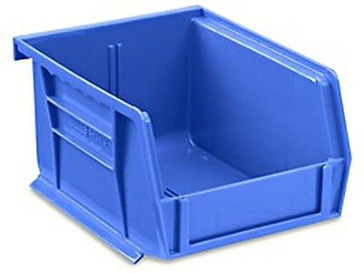 Blue Stackable Storage Bin 5-12l X 4w X 3h - Lot Of 24 S-12413blu