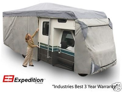 Class C Expedition RV Trailer Motor Home Cover Fits 35-38 Foot