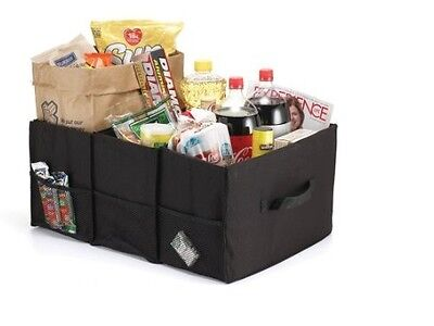 Grocery Tote and Car Trunk Organizer, Replace Plastic Shopping Bags, Easy Carry ()