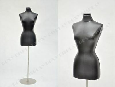 Female Jersey Form Size 68 Black Pu Leather Cover Jf-f68pu-bkbs-04