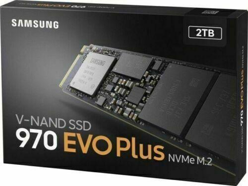 Samsung 970 EVO Plus 2TB SSD MZ-V7S2T0BW RECHNUNG / UNBESCHRIEBEN