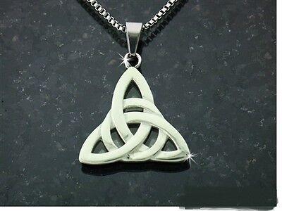 316 L Modern Trinity Knot Pendant no chain